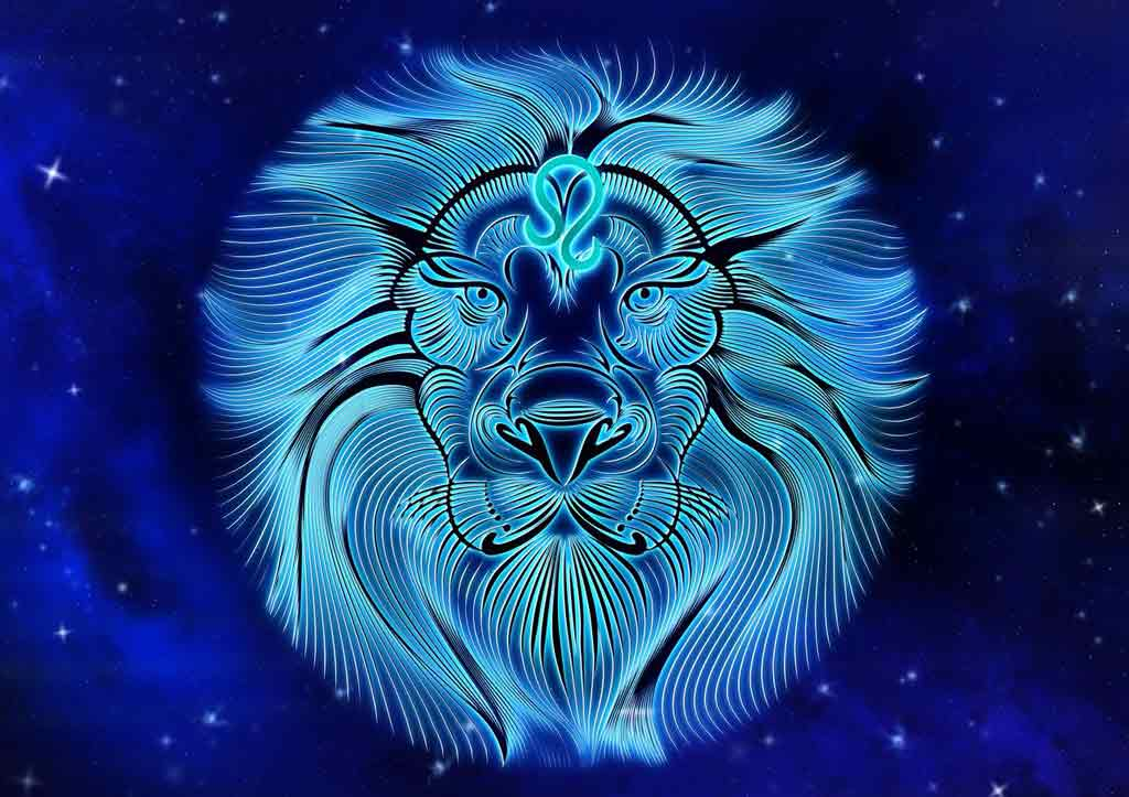 Leo is a fire symbol in astrology.