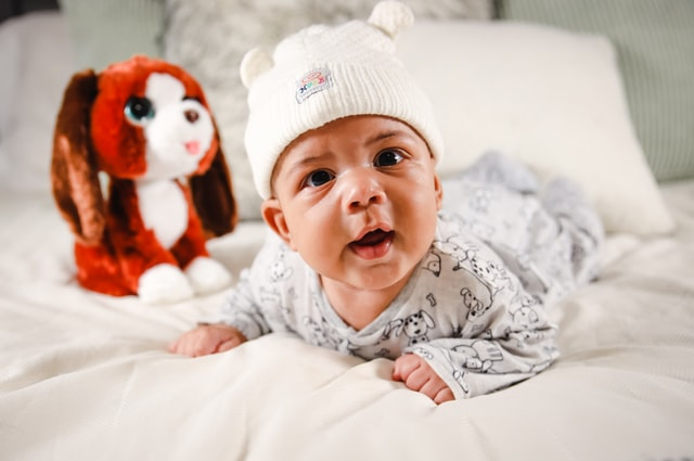 Tummy time helps babies develop muscles for crawling.