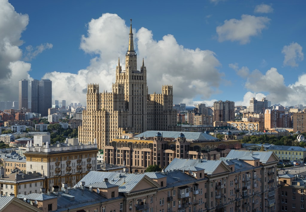 The book is based in the dazzling city of Moscow, Russia.