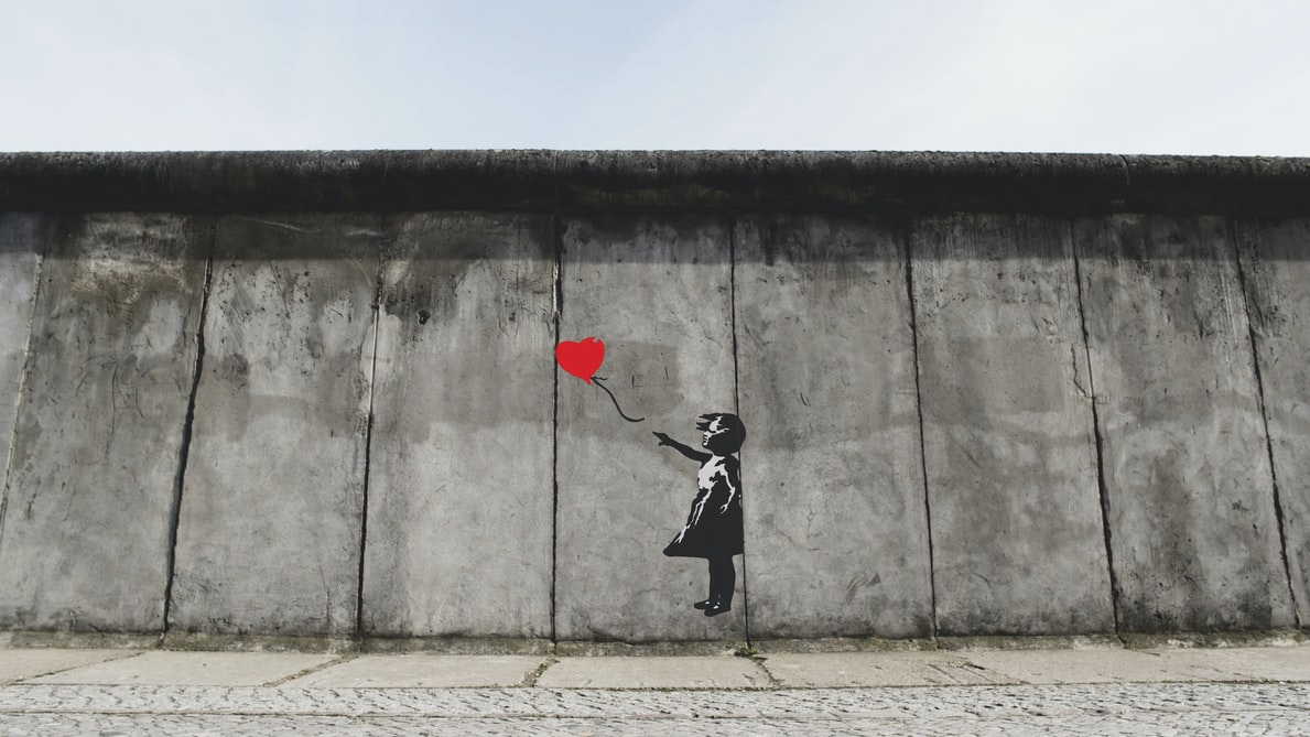 Find the best Banksy art from the famous graffiti artist.
