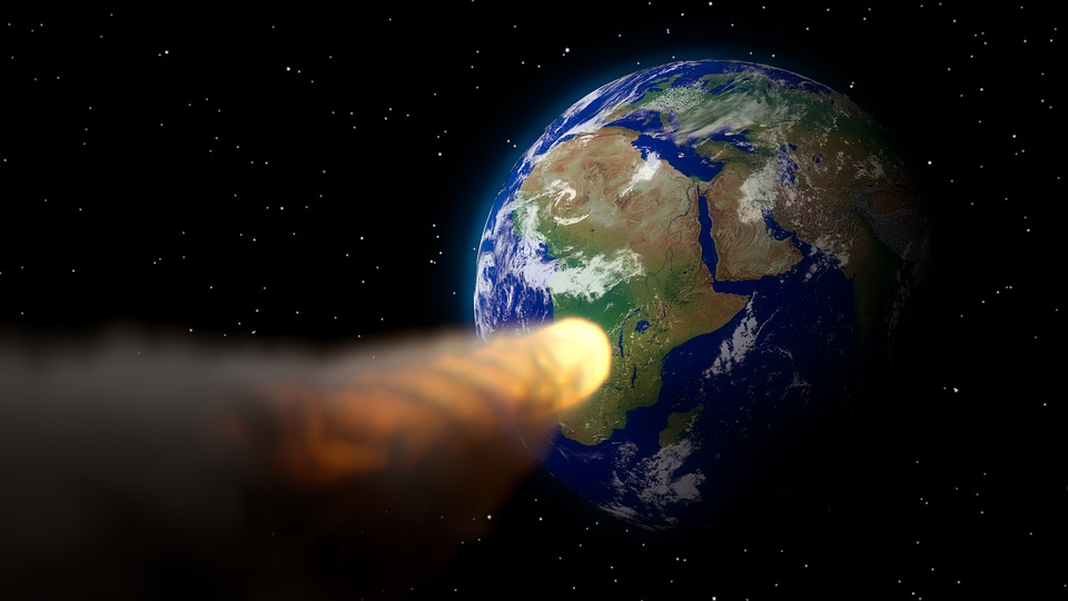 an asteroid threatening to collide with the Earth is always a problem!