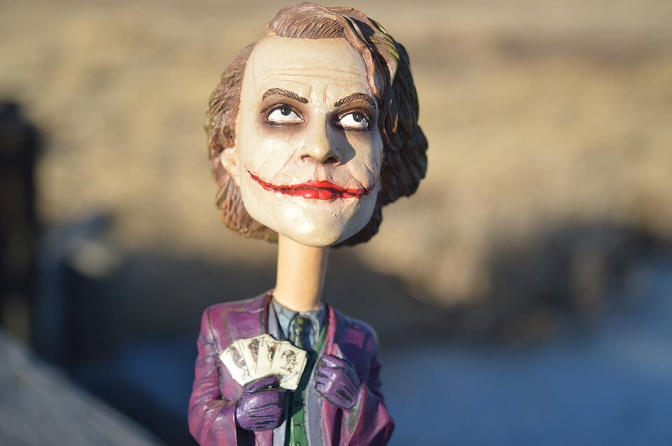 Heath Ledger's rendition of the Joker from Batman won him a lot of praise.