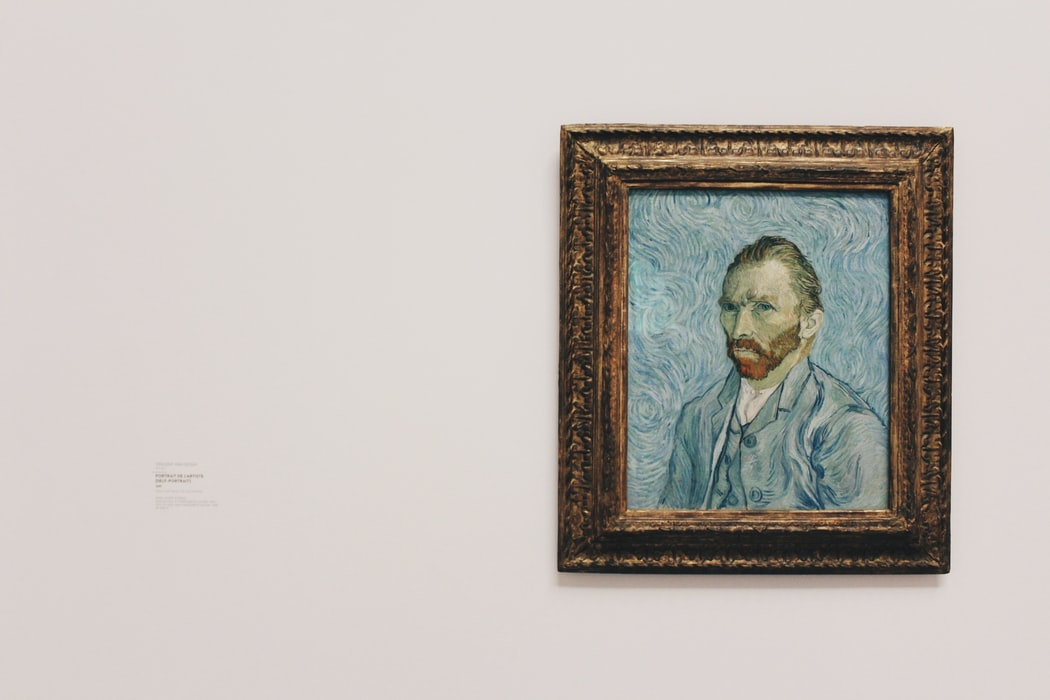 Quotes about art by van Gogh are inspirational.