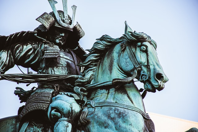 Samurai were the hereditary military nobility and high-ranking officer caste of medieval Japan.