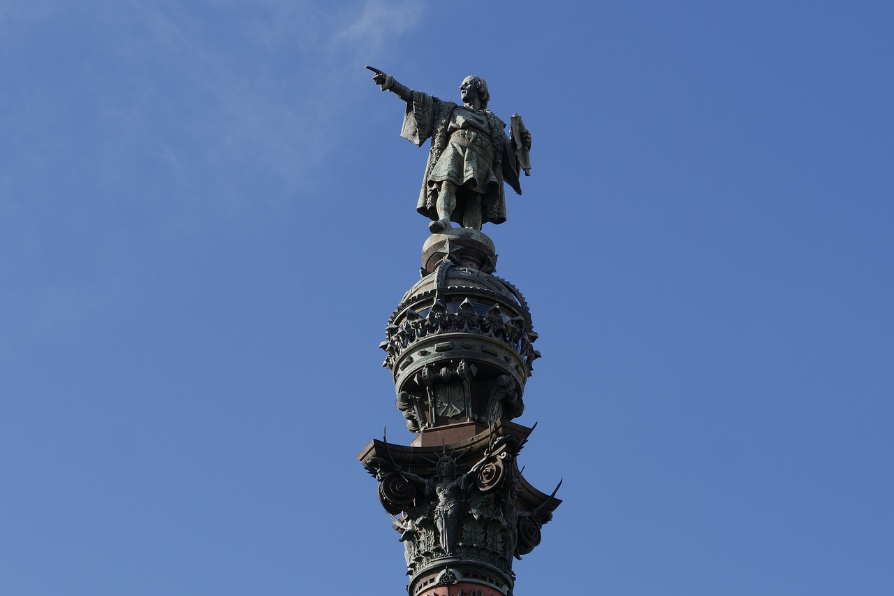 Christopher Columbus quotes from his four voyages across the Atlantic ocean.