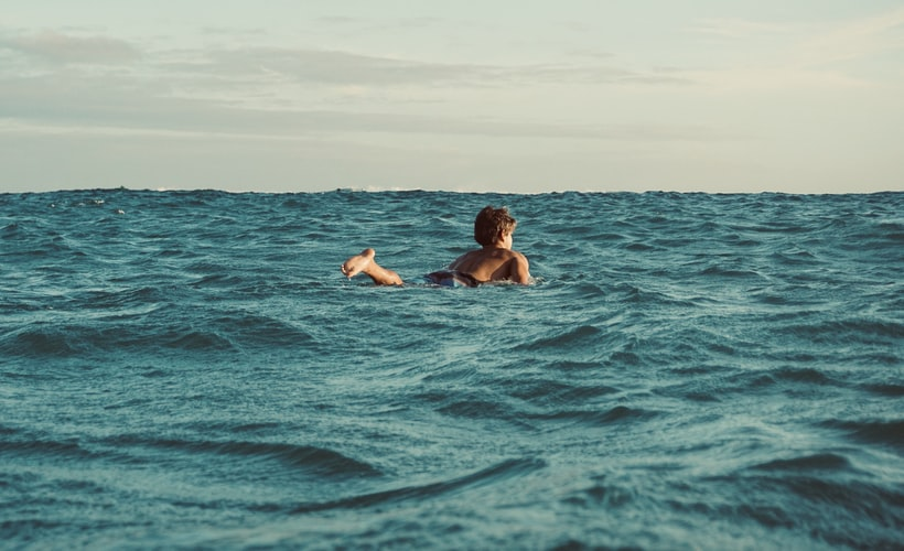 Quotes about swimming can remind you of the serene waters.