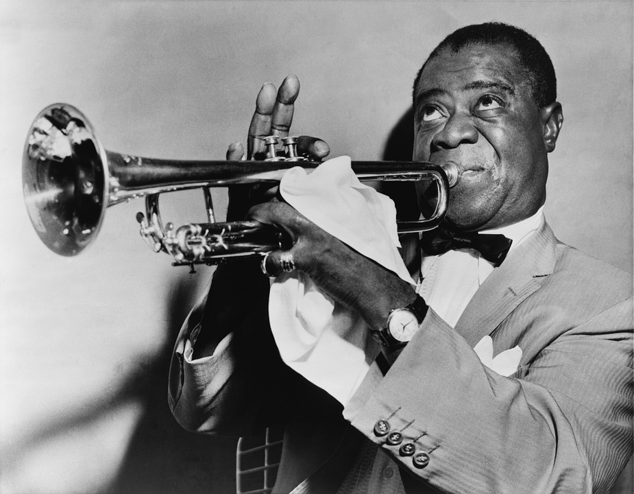 Louis Armstrong's love for jazz music.