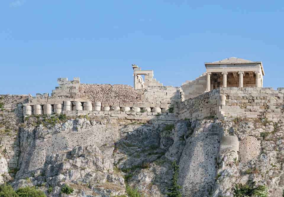 Discover ruins of an ancient Greek kingdom in which 'Antigone' is set.