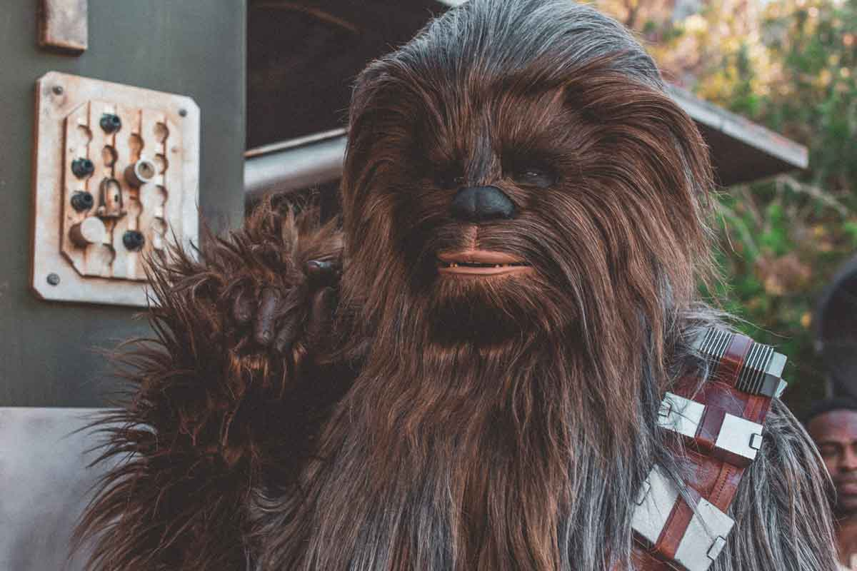 [Chewbacca appeared in the Ep-4 of 'Star Wars: A New Hope'