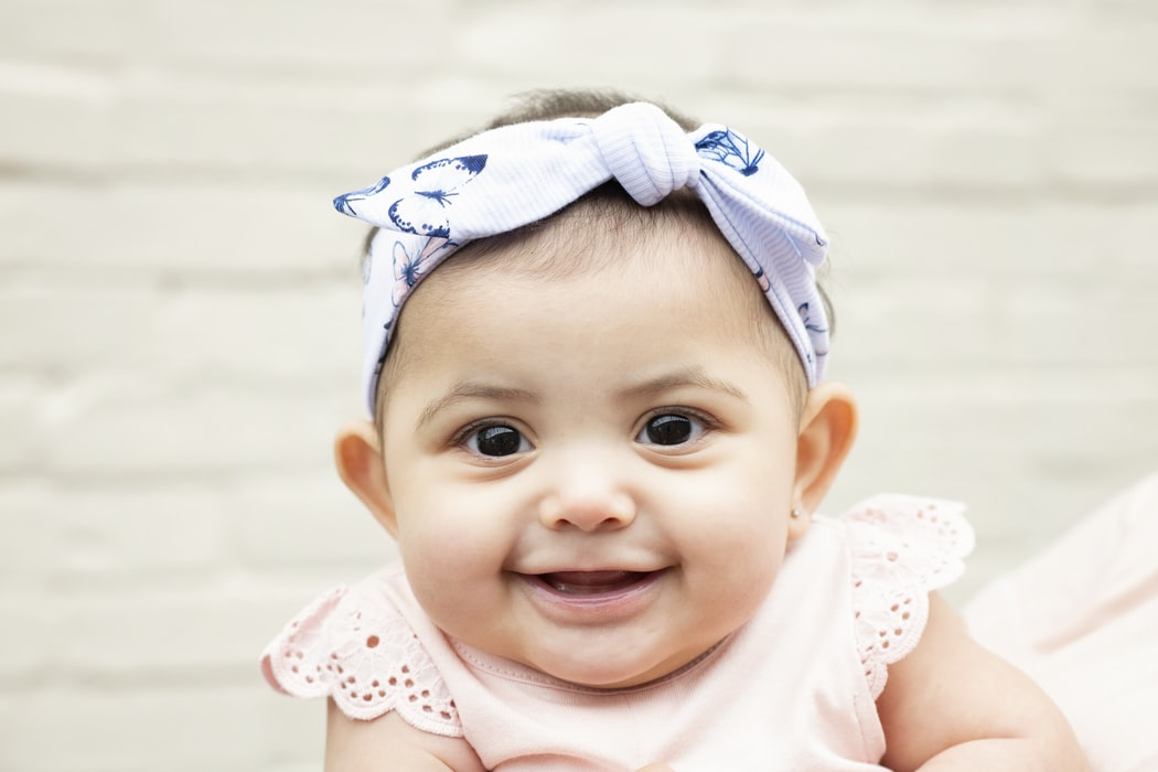 As babies grow their smiles have different meanings