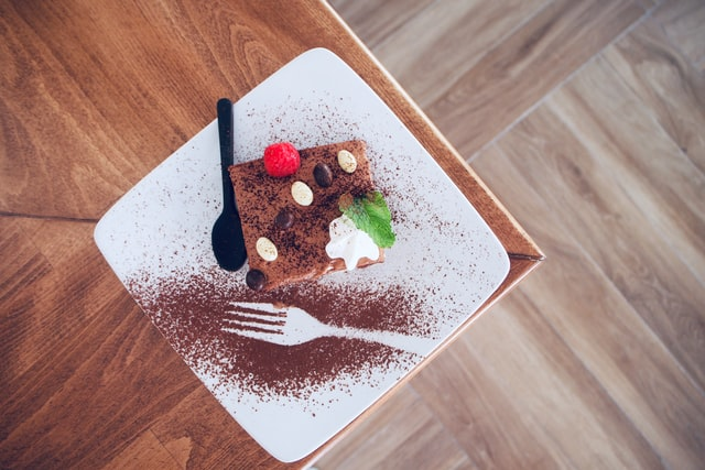 Let life surprise you with as many desserts as possible.