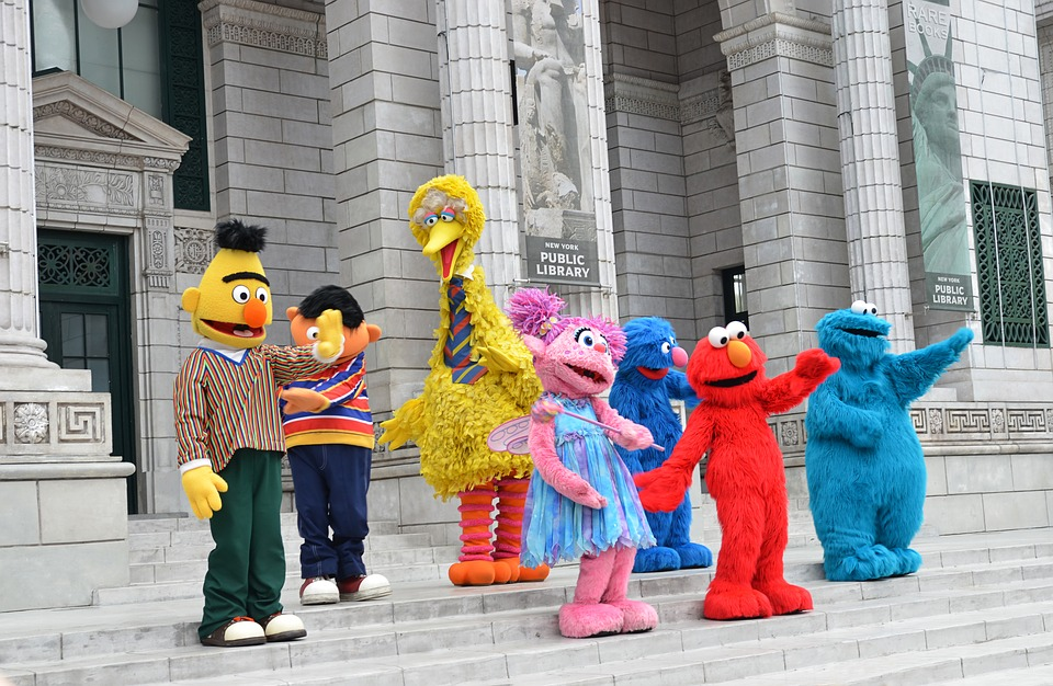 Best of quotes from all the characters of television show Sesame Street.