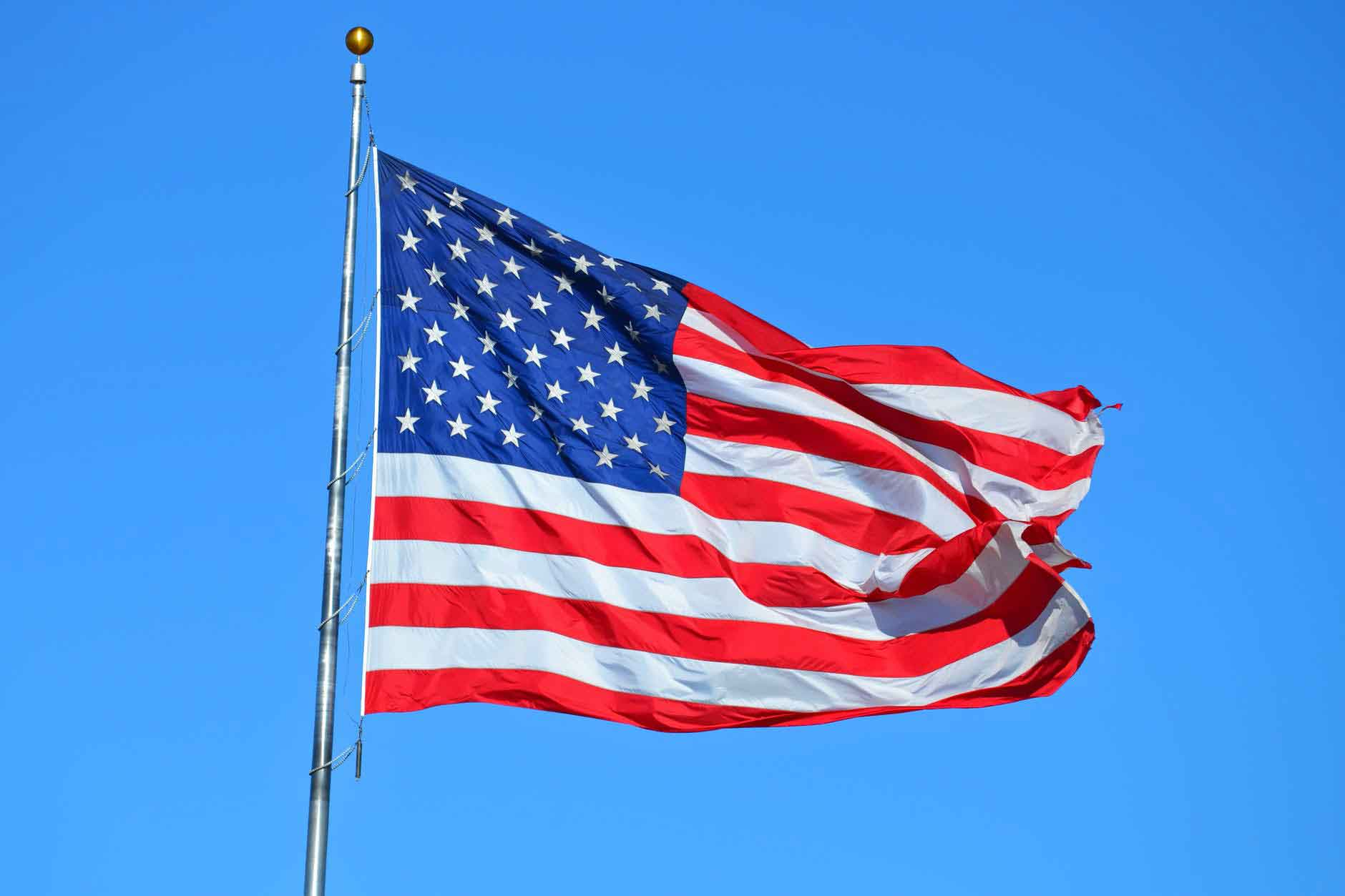 American Flag represent the entire nation