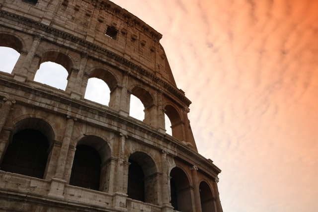 The architecture of Rome speaks tons about its profound history and impact.