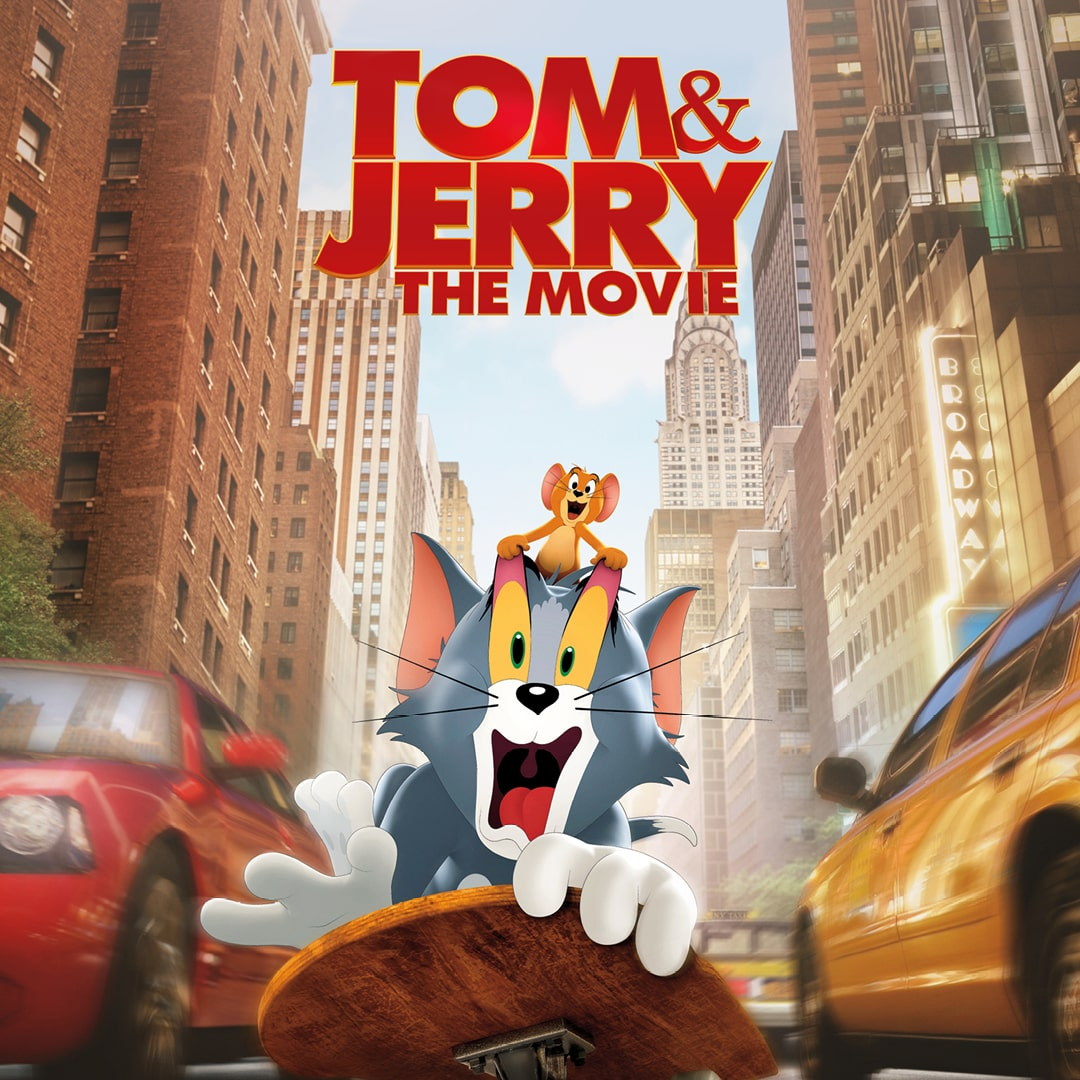 Movie poster for Tom & Jerry: The Movie.