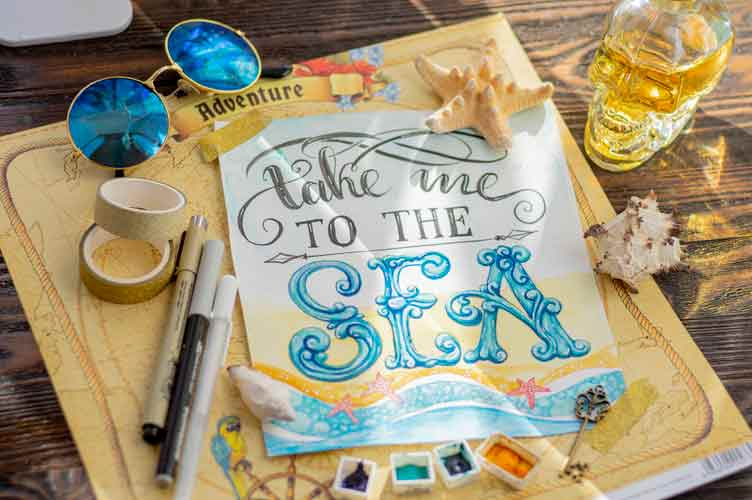 Start your day off with a craft quote to get into the creative spirit
