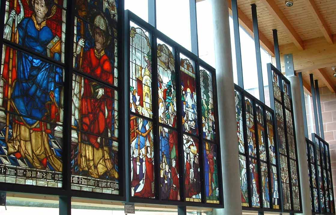 Elisabeth Kubler Ross quotes, stained glass denotes.