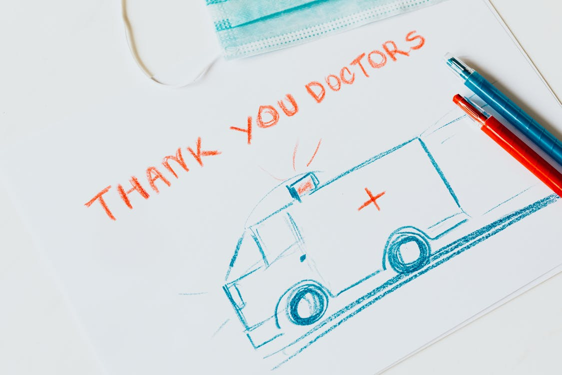 Parents may wish to thank doctors after a baby x-ray.