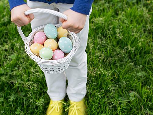 Everyone enjoys an Easter egg hunt.