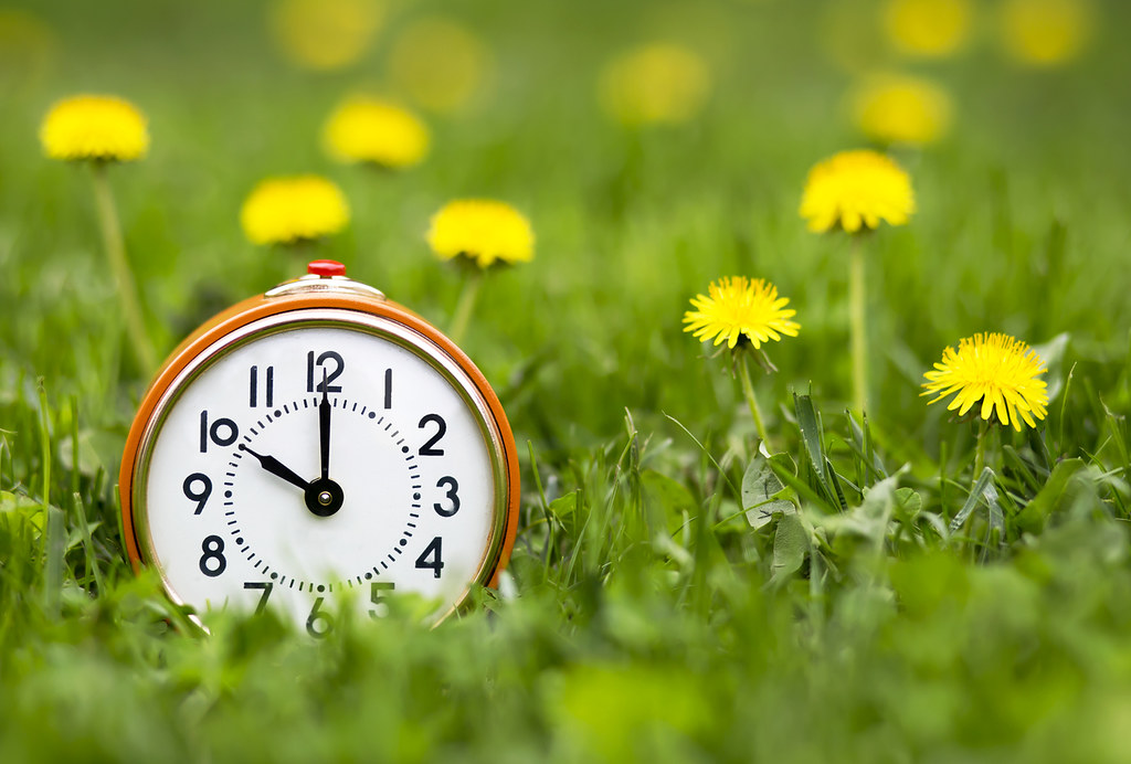 In the UK, clocks will be set forward by an hour on the last Sunday of March.