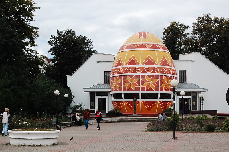 The Pysanka Museum is the only museum dedicated to Easter eggs.