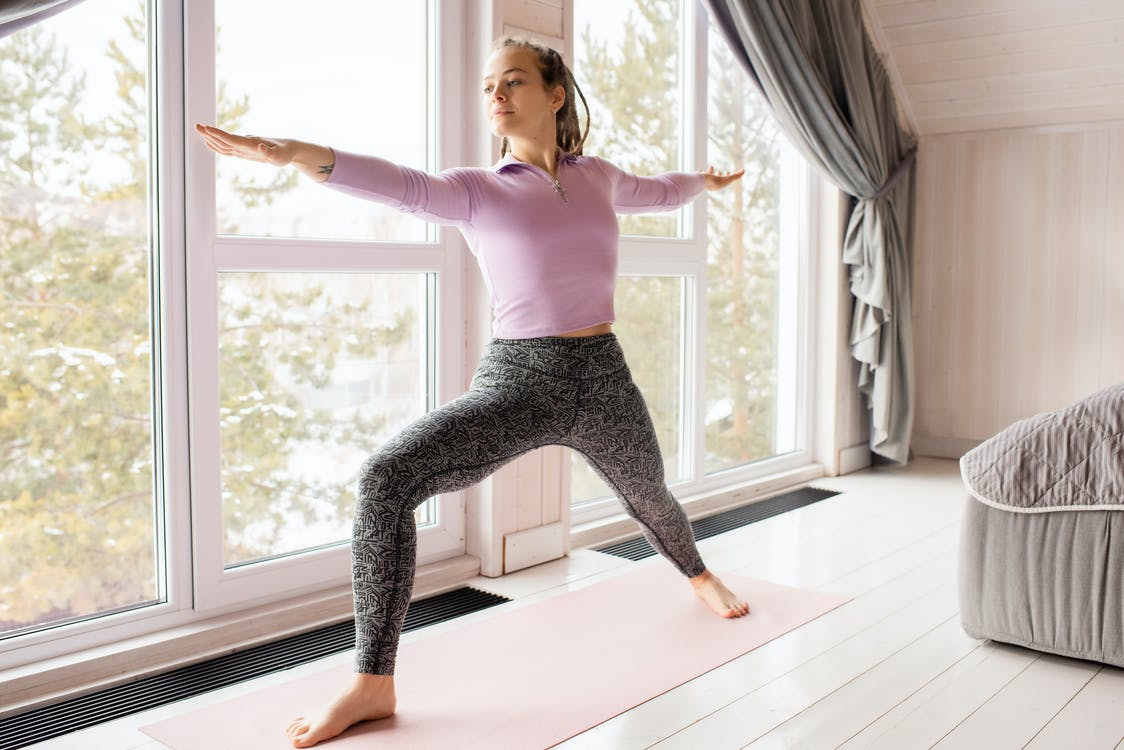 Yoga can help to improve blood flow.