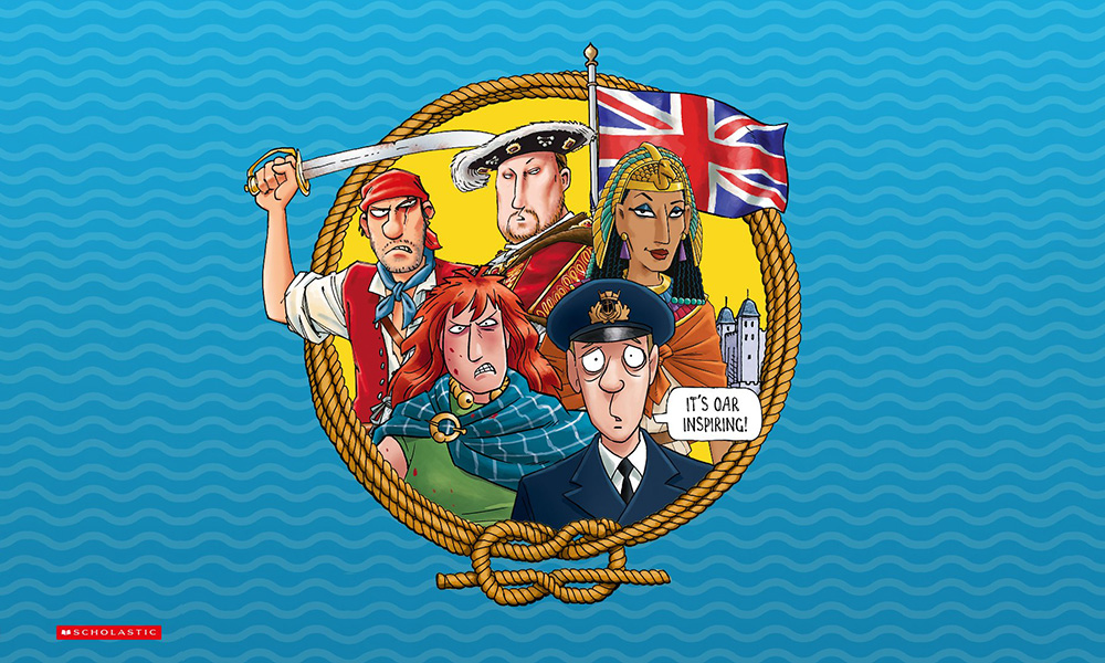 You'll learn about some staple Horrible Histories figures on this boat tour.