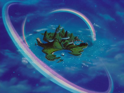 Peter Pan's Neverland is another fictional place where every kid dreams of visiting every single day of their lives.