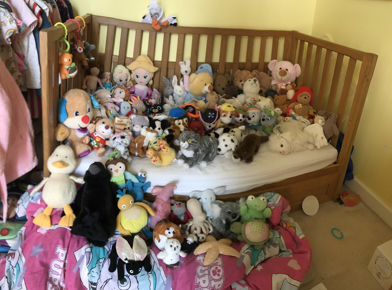 When toys become too numerous.