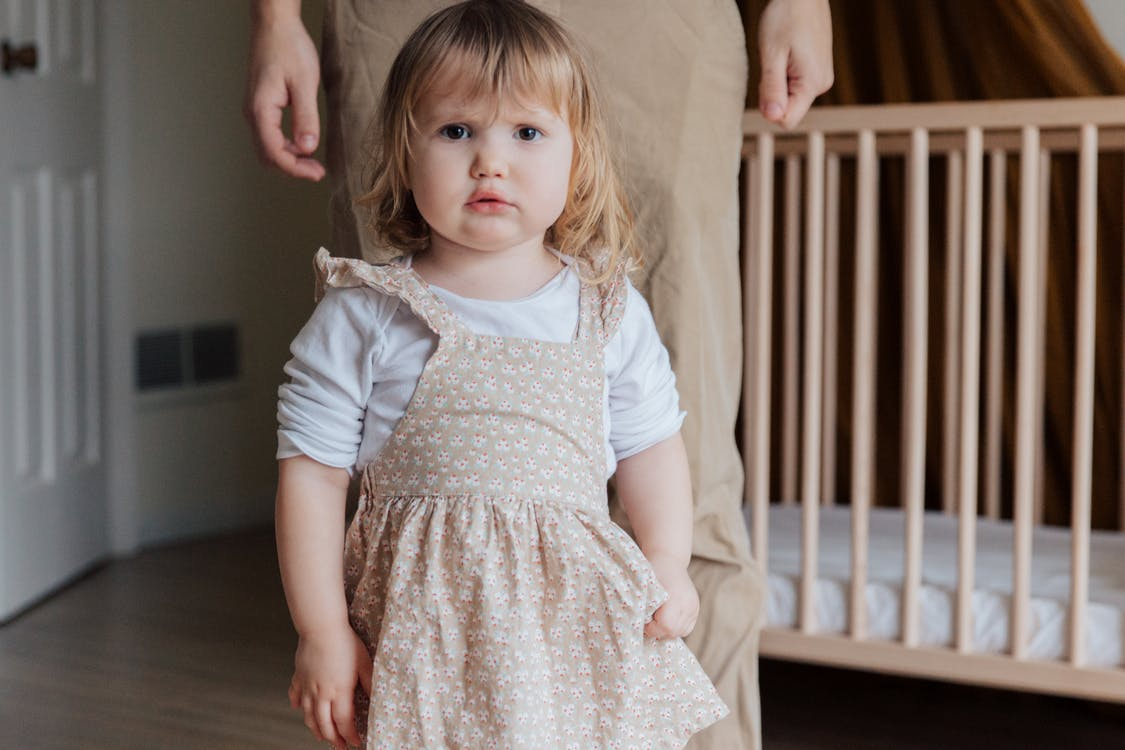 A child still in a diaper might be caused by parents not taking the necessary steps.