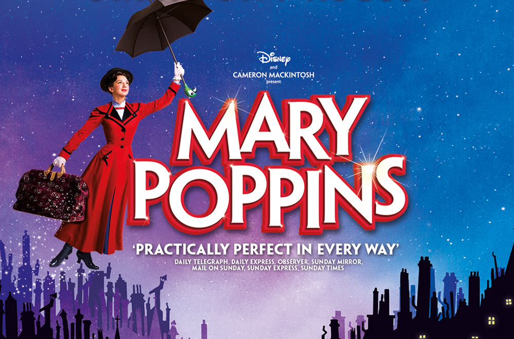 Mary Poppins at the Prince Edward Theatre.