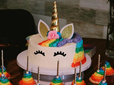 A unicorn is a special type of cake any kid would love.