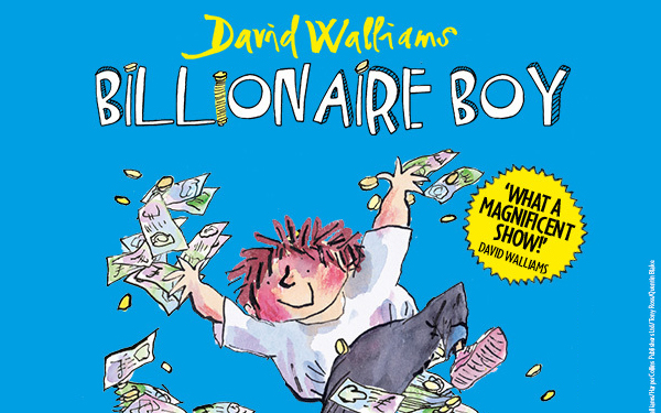 Billionaire Boy is coming to the West End.
