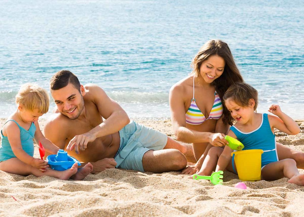 Best beach hack for every parent.