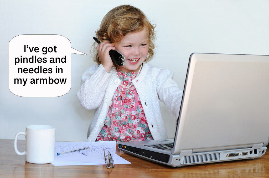 Children can be very innovative at times, especially with the words they make up.