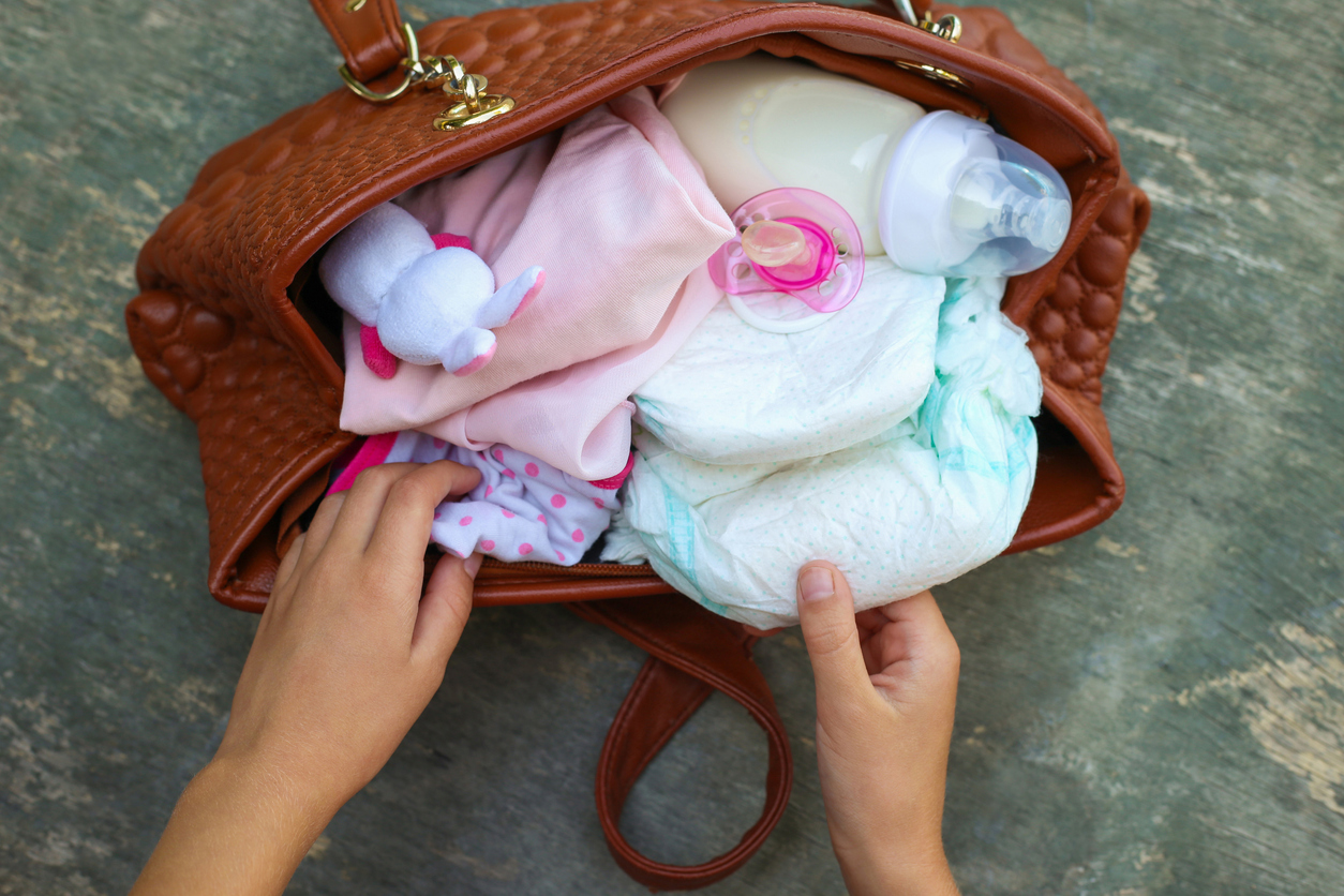 There will always be a few items that is a must have in your bag if you're a parent.