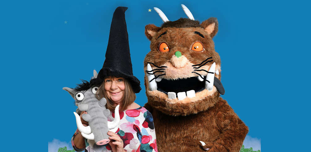 Head to this Julia Donaldson spectacular for an hour of storytelling magic.