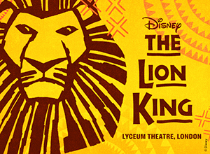 See award-winning musical The Lion King at the Lyceum Theatre.