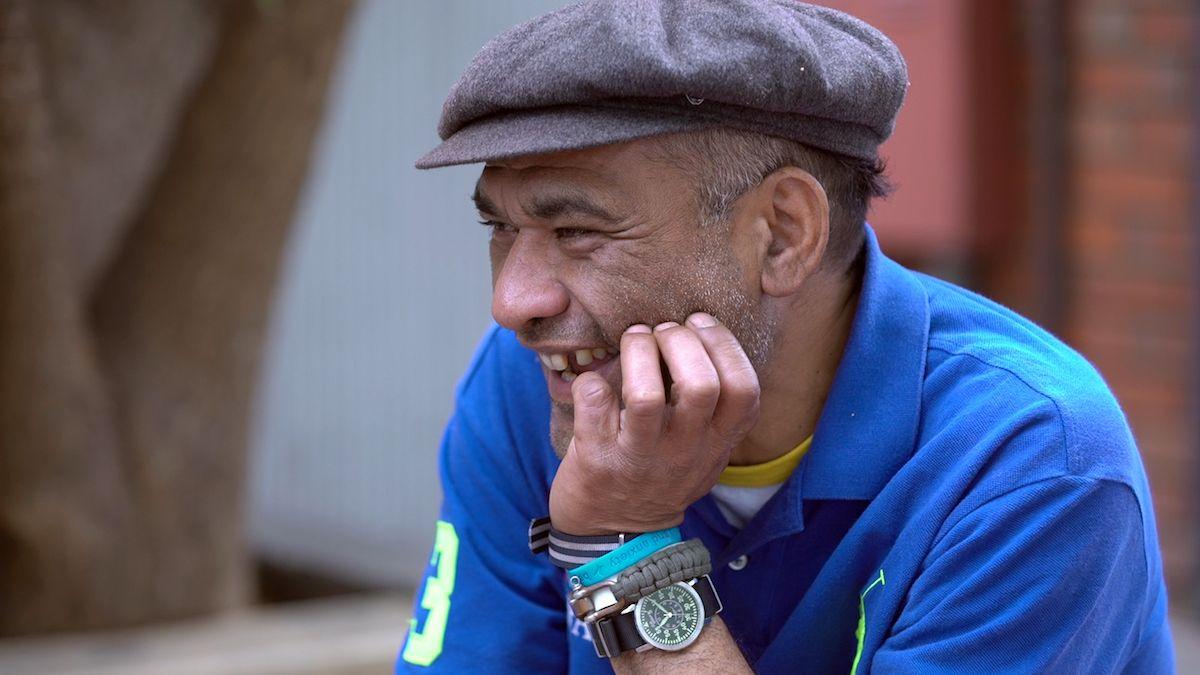 Image of a rustic older man