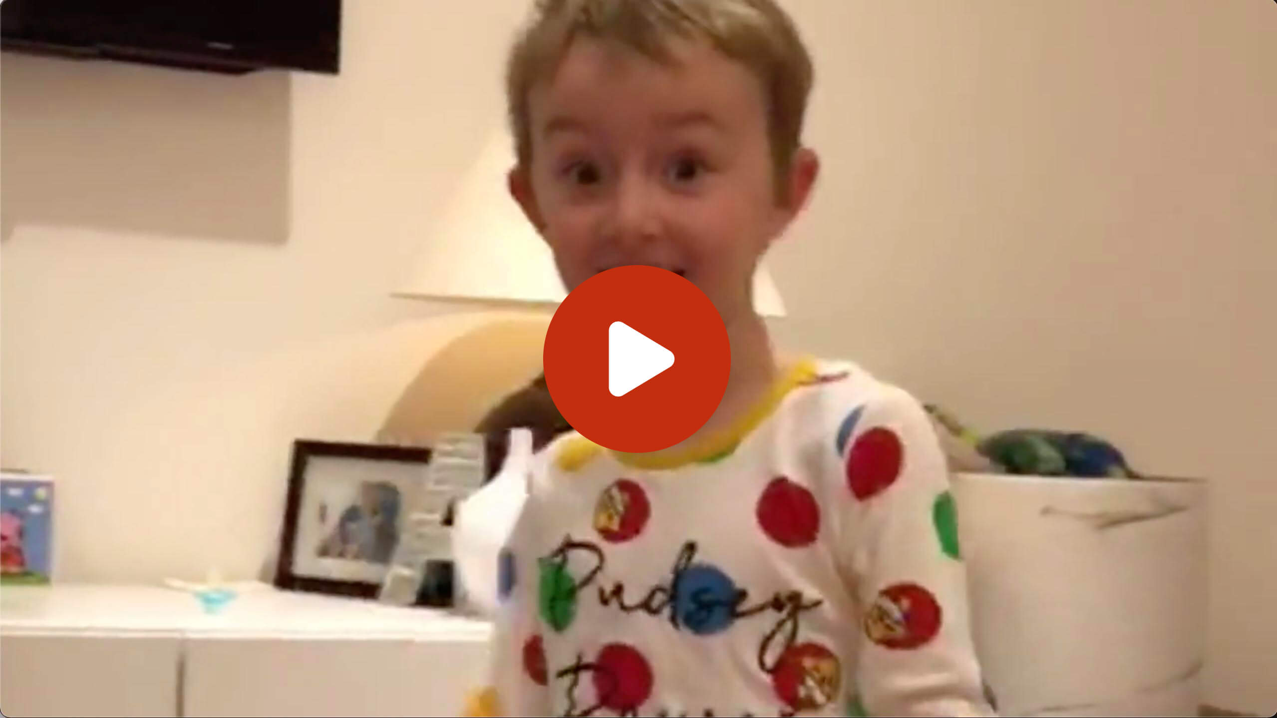 Santa video reaction another