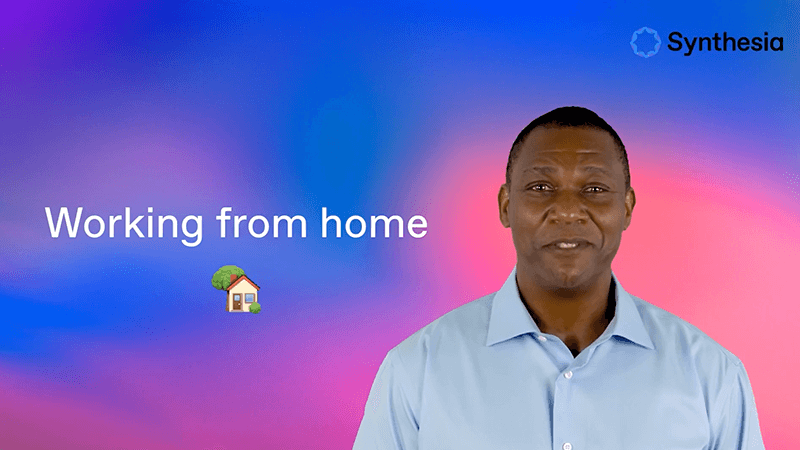 Training video - work from home