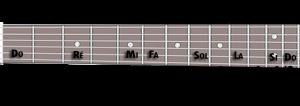 gamme diatonique guitare