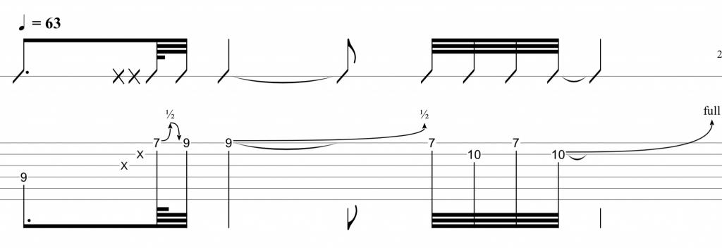 Technique du rake guitare - confortably numb