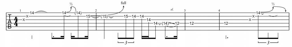 Comment faire Technique Rake Guitare - David Gilmour