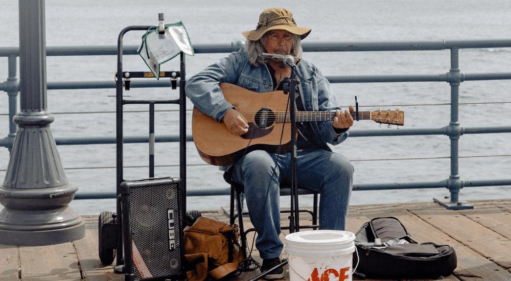 guitariste amateur