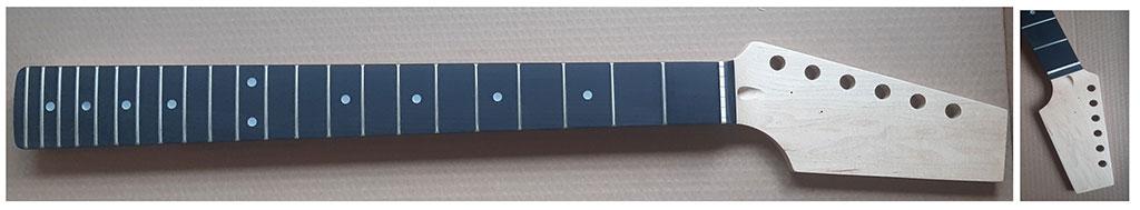 manche stratocaster guitare en kit harley benton