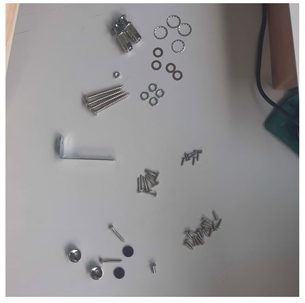pièces électroniques montage guitare en kit myguitare