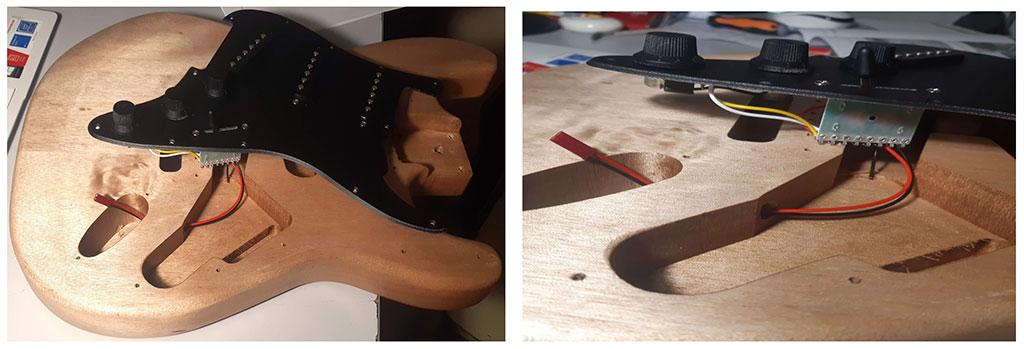 electronique stratocaster montage guitare en kit myguitare