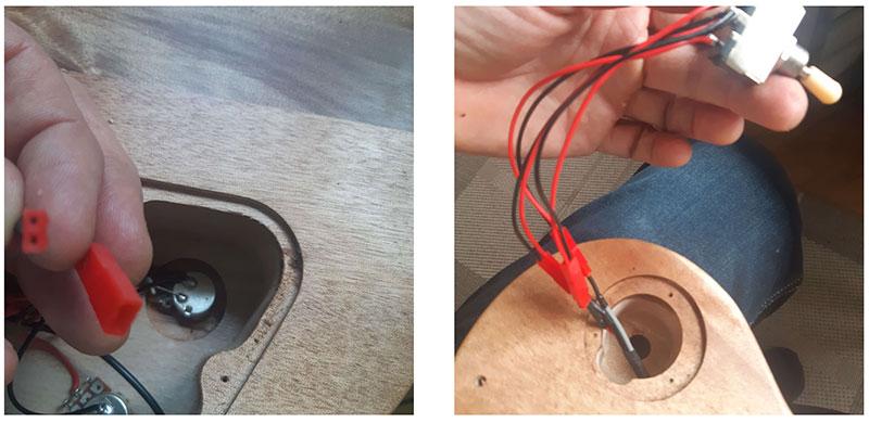 électronique les paul guitare en kit polarité step 4