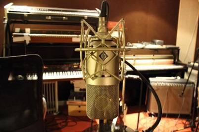 Studio enregistrement guitare